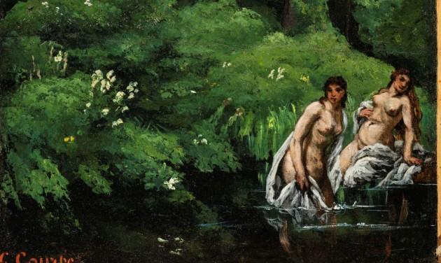 75 év után újra Magyarországon Courbet festménye