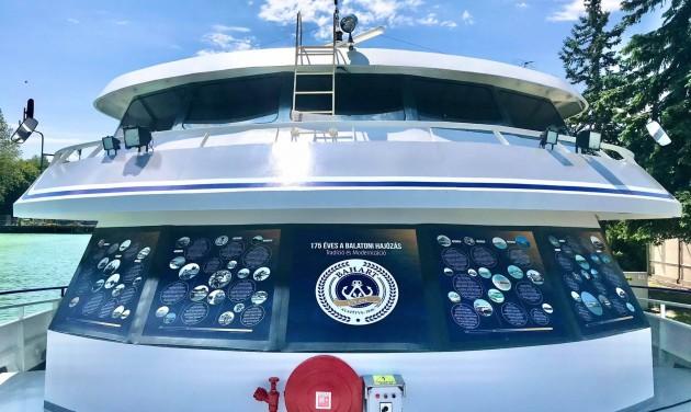 Megkezdődött a 175. jubileumi nyári hajózási szezon a Balatonon