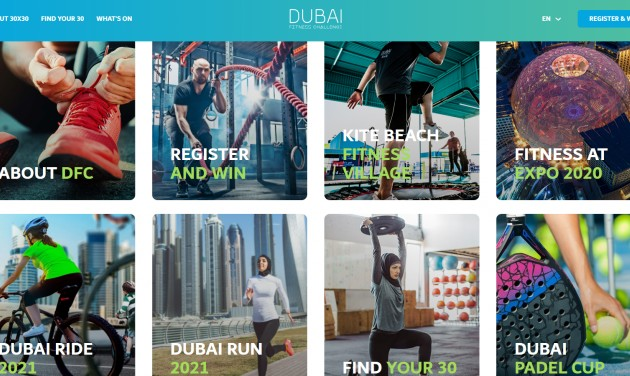 Dubai Fitness Challenge október 29-én