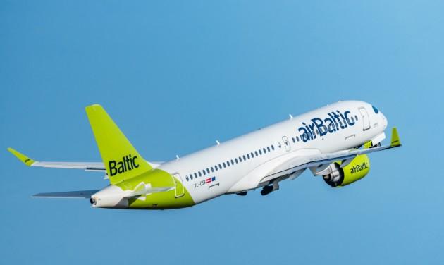 Duplázott augusztusban az airBaltic