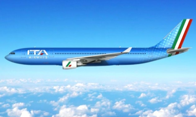 Az ITA Airways nevet kapta az új olasz légitársaság