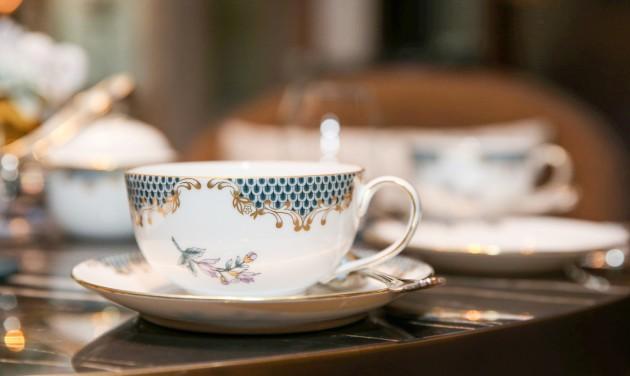 Egyedi herendi porcelán készült a Greshambe
