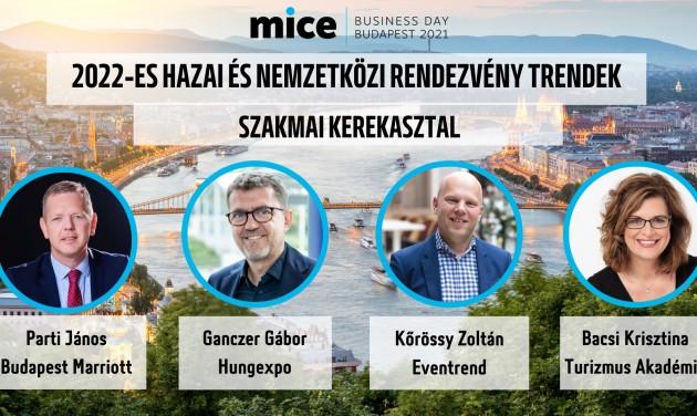 Idén is szakmai fórummal nyit a MICE Business Day