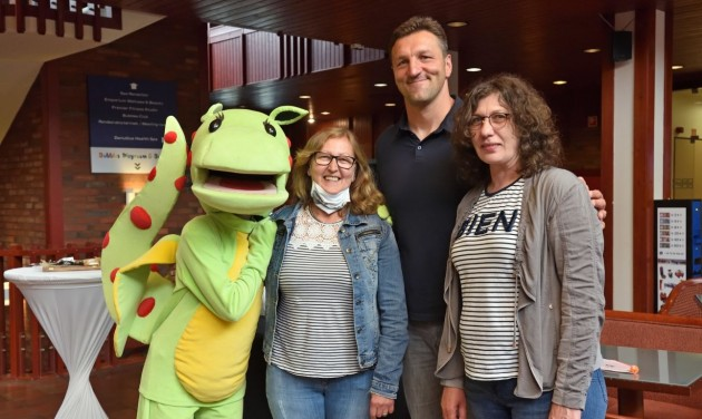 A pólós aranycsapat tagjai fogadták az első vendégeket a Danubius szállodáiban