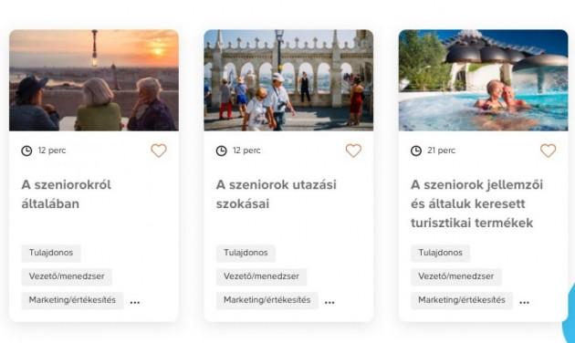 Már lehet regisztrálni az ingyenes turizmus e-learning tananyagokra