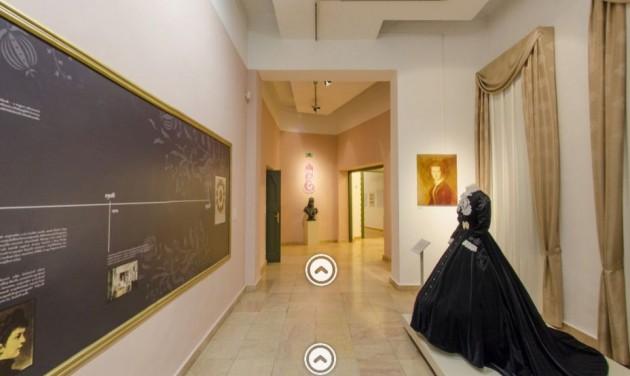 Virtuálisan is bejárhatjuk a kecskeméti Cifrapalota Sisi-kiállítását