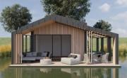 A ház, amivel közlekedni lehet – épül az első hazai úszófalu Abádszalókon