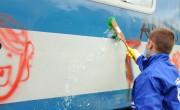 Tavaly sem kímélték a graffitisek a vonatokat