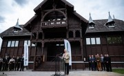 Átadták Habsburg Frigyes megújult millenniumi pavilonját