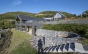 Átadták a Somoskői Látogatóközpont kibővített épületét