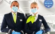 Elsőként kapott ötcsillagos Covid-19 biztonsági minősítést az airBaltic