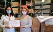 Textíliaadományt kapott a kecskeméti kórház a Four Points by Sheratontól