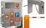 Professzionális sorompós parkolórendszerek, fizetőautomaták