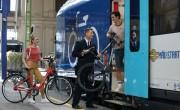 Jelentősen növekszik a kerékpáros utasok száma a vonatokon