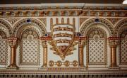 A Budavári Palotában épül az ország legnagyobb Zsolnay kandallója