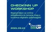 MEGHÍVÓ - CheckINN UP online workshop a turizmus digitalizációjáról