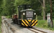 A városi szakaszhoz ér a lillafüredi erdei vasút pályafelújítása
