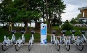 Határon átnyúló kerékpárkölcsönző rendszer indult Tatán