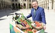 Mostantól saját márkajelük van a bécsi zöldségeknek, gyümölcsöknek