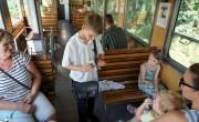 Gyermekvasutasok szolgálnak a balatonfenyvesi kisvasúton