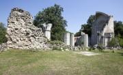 Újra látogatható a vértesszentkereszti bencés apátsági templomrom
