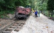 Száz év után megújul a Lillafürdei Erdei Vasút pályája