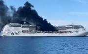Tűz ütött ki egy MSC-tengerjáró fedélzetén