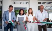 Új épülettel bővült az Aranyszarvas Panzió, Étterem és Grillterasz