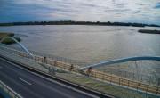 A Tisza-tavat szeli át az Év Kerékpárútja