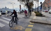 Jelentős emelkedést regisztrálnak a budapesti kerékpárszámlálók