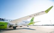 Új Airbus A220-300-as az airBaltic flottájában