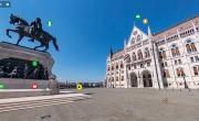 Mostantól virtuális sétán is bejárhatjuk a Kossuth teret