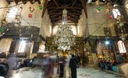 A szokásos turistaroham nélkül ünneplik a karácsonyt a Szentföldön