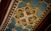 Elkészült a Budavári Palota Szent István-termének mennyezete és parkettája