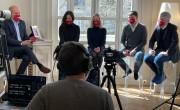 Hibrid workshop a francia vendégekért