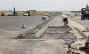 Budapest airport makes progress in runway reconstruction