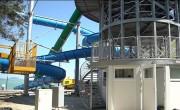 Átadták a Balaton legnagyobb szabadtéri vízi csúszdáját Balatonfenyvesen