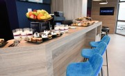 Lighting company opens first corporate lounge at Budapest airport