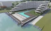 Az Alkotmánybírósághoz fordult Balatonvilágos a partra tervezett épületmonstrum miatt