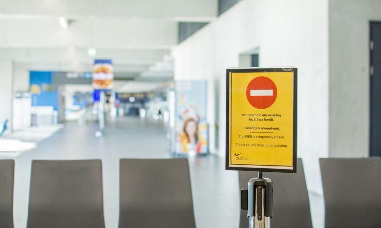 Csökkentett üzemmód a budapesti repülőtéren