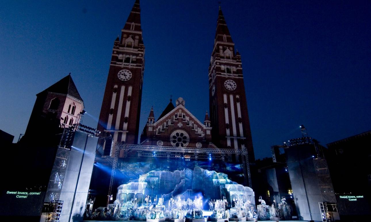 Európai premier a Szegedi Szabadtéri Játékokon