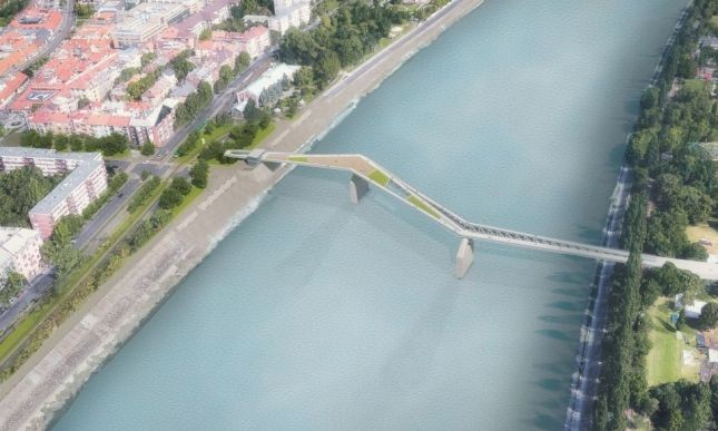 Ismét gyalogos hidat álmodtak a budapesti Dunára
