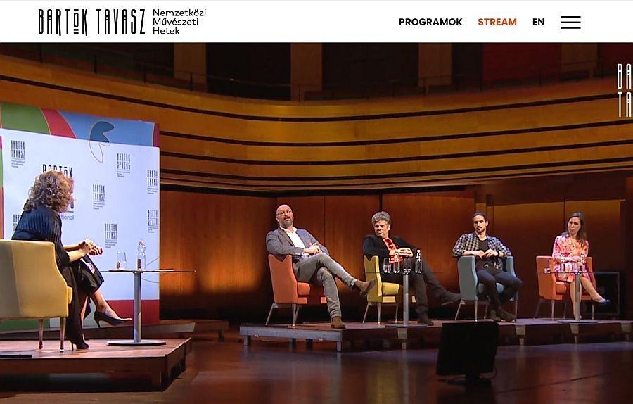 Online platformon debütál a Bartók Tavasz