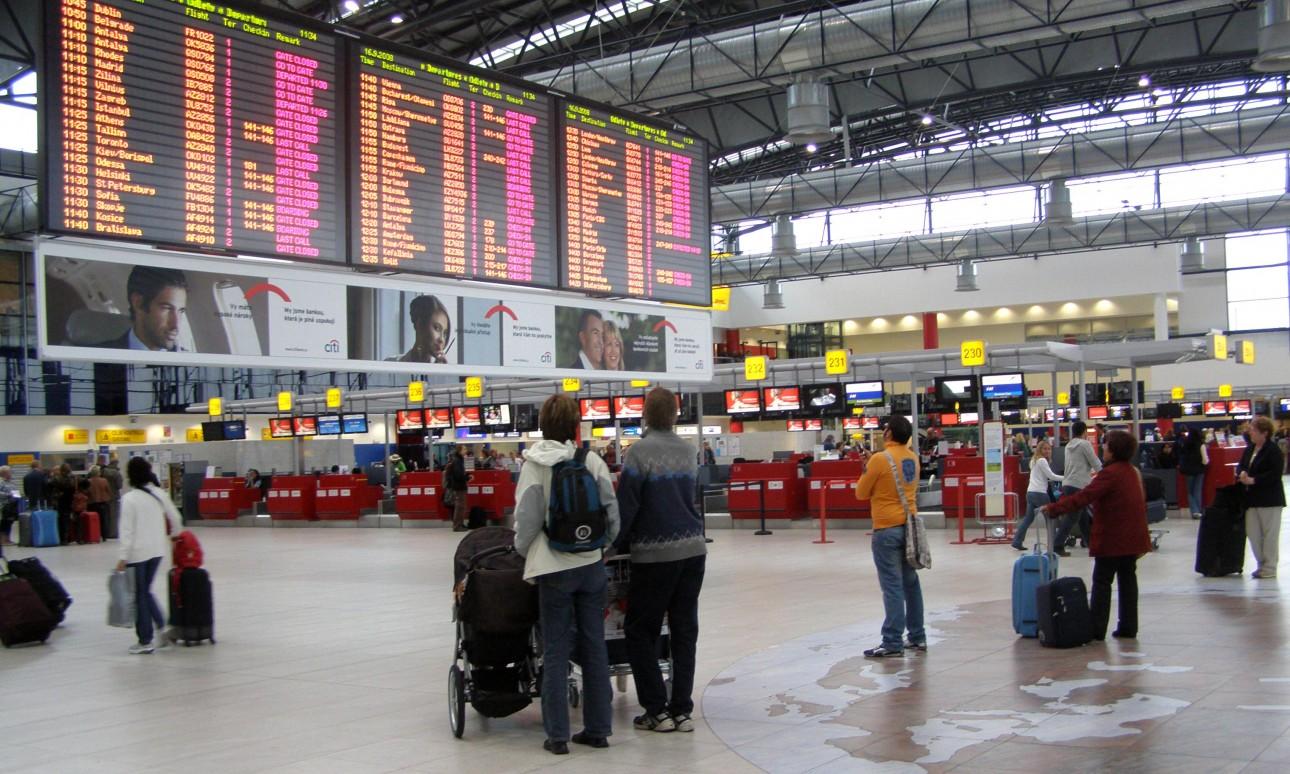 Szigor a cseh repülőtereken