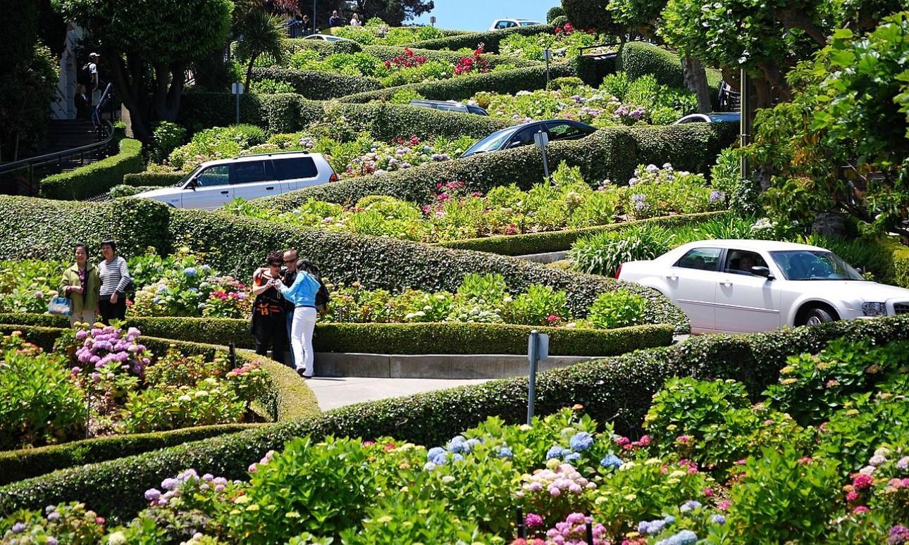 Overtourism San Franciscóban: fizetős lesz a Lombard Street