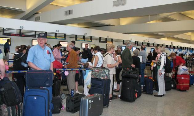 Melyek a repülőterek legszennyezettebb pontjai?