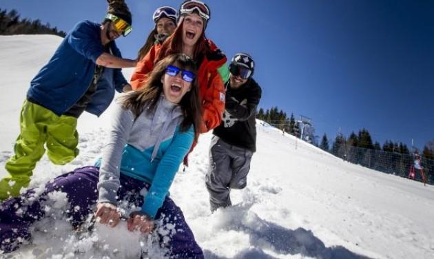 Téli sportban legyőzhetetlen