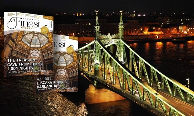 Illatok, színek, paloták – itt az őszi Budapest's Finest