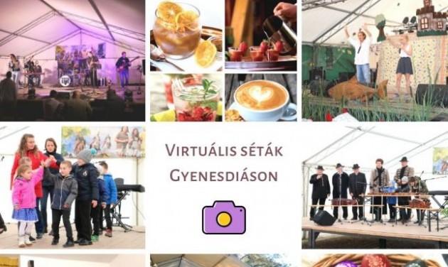 Home office Tourinform és virtuális turizmus Gyenesdiáson