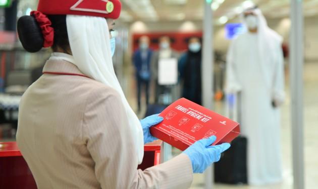 Az Emirates lett a leginkább Covid-biztos légitársaság